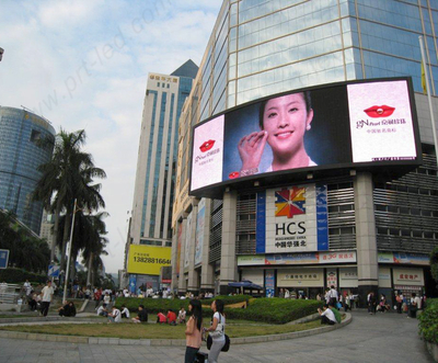 Slim Aluminium P6.25 Curved LED Sign Board für Outdoor-Display