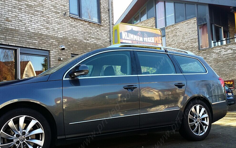 P5 Auto / Taxi Top LED Billboard mit Displaygröße 960X320mm